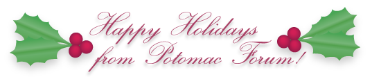 HappyHolidays from Potomac Forum